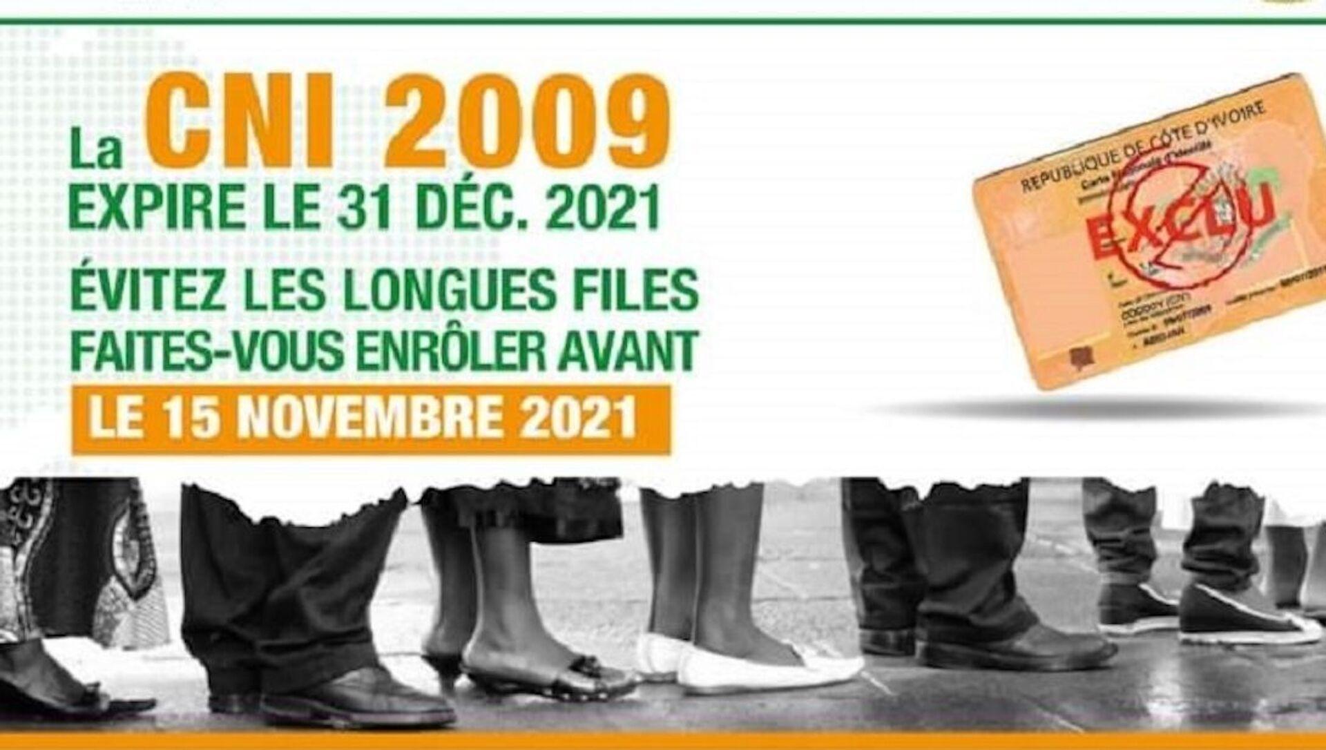 Campagne d'incitation à l'enrôlement des citoyens ivoiriens - Sputnik France, 1920, 14.09.2021