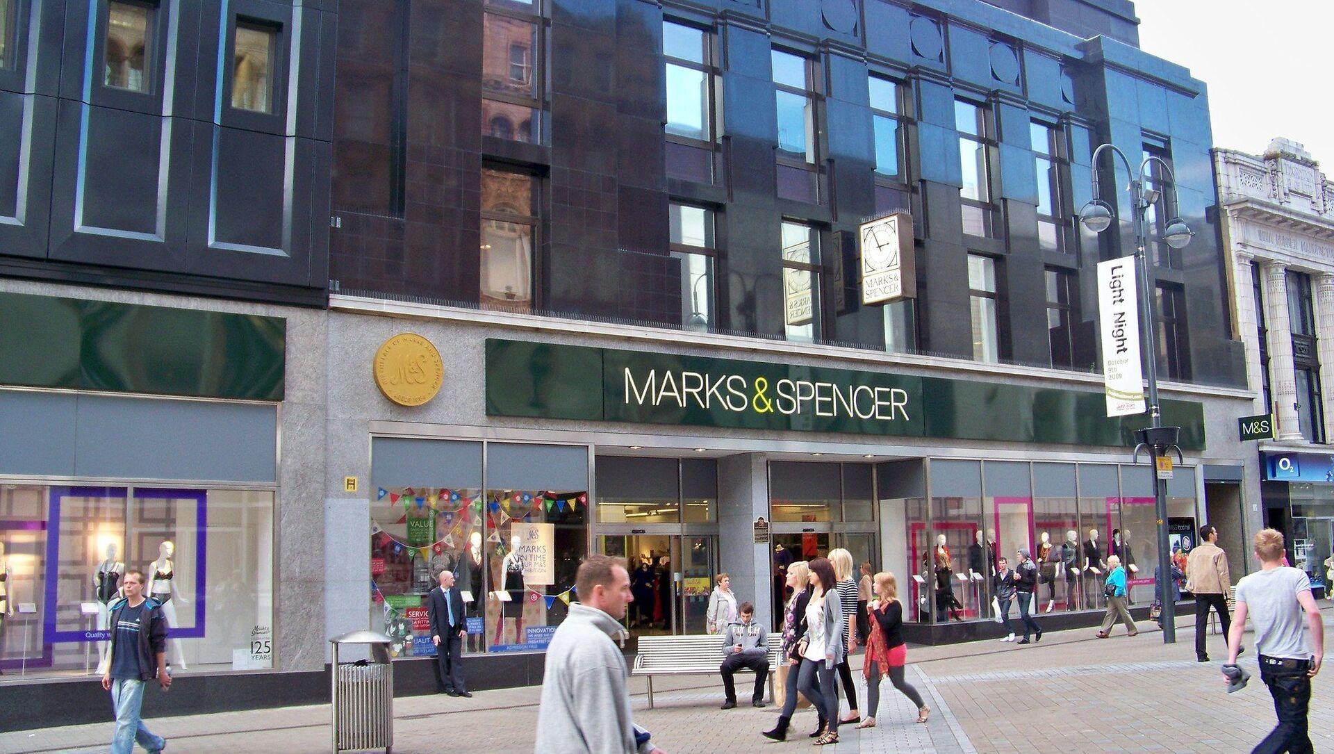 Un magasin Marks & Spencer à Leeds, Royaume-Uni - Sputnik France, 1920, 16.09.2021