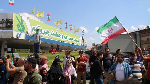 Arrivée du pétrole iranien au Liban - Sputnik France
