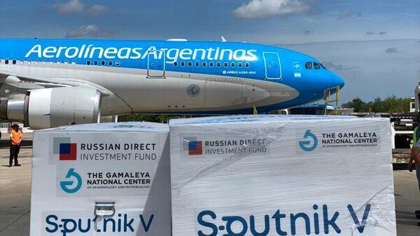 Livraison du vaccin russe Sputnik V en Argentine - Sputnik France