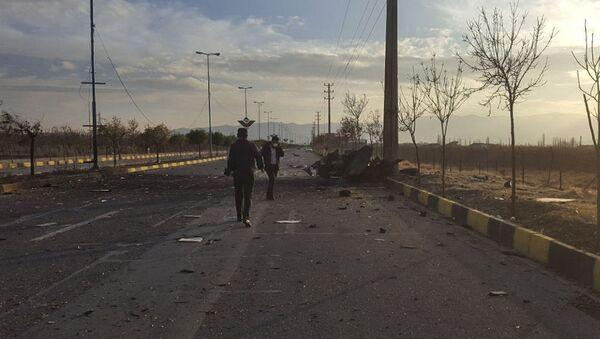 Sur les lieux du meurtre de Mohsen Fakhrizadeh - Sputnik France