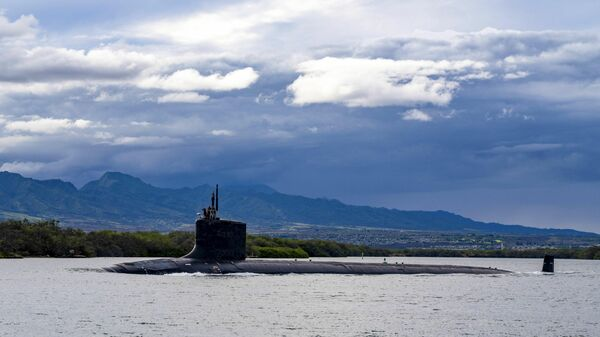 Un sous-marin américain de classe Virginia - Sputnik France