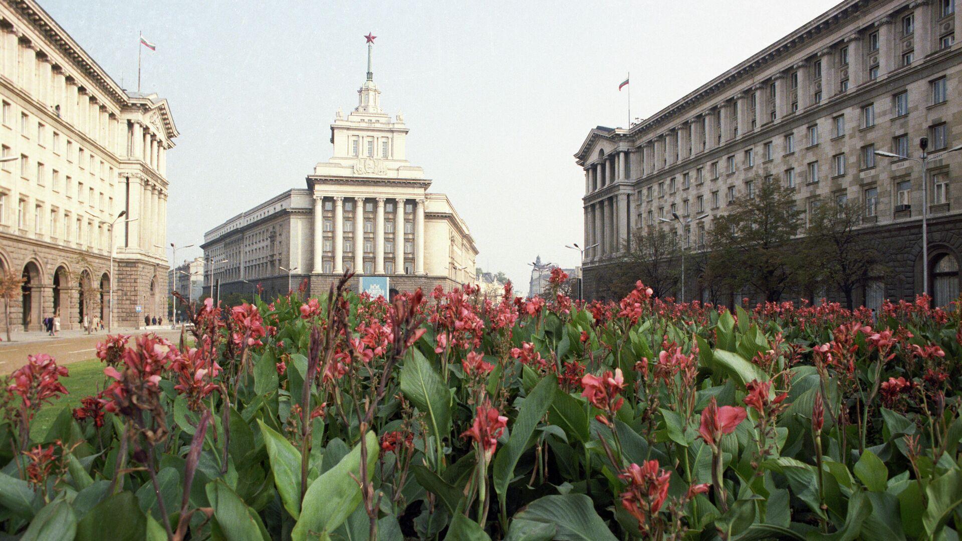 Le siège du parlement bulgare, au centre de Sofia (archive photo) - Sputnik France, 1920, 25.09.2021