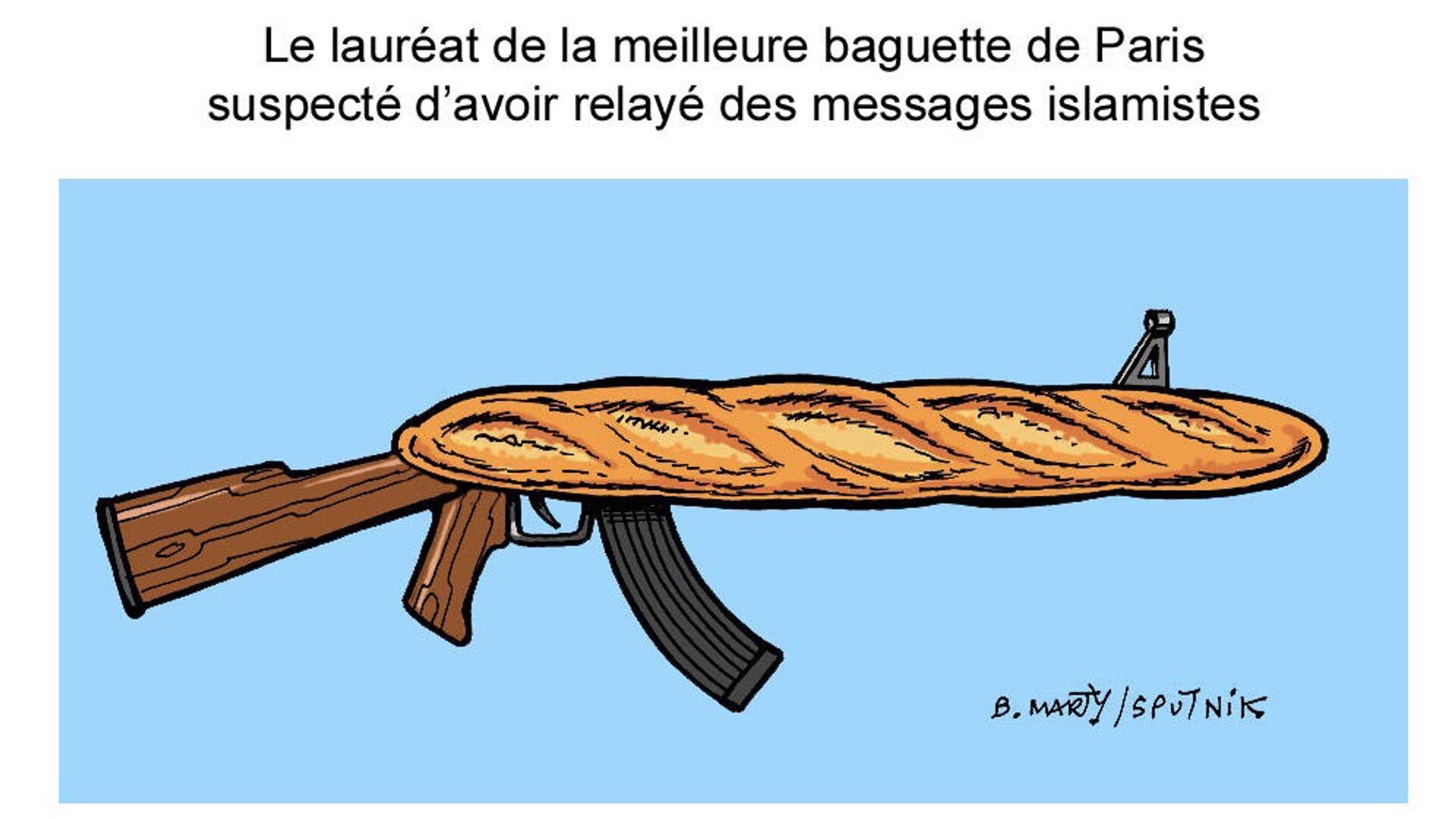 Le lauréat de la meilleure baguette de Paris dans le pétrin!  - Sputnik France, 1920, 01.10.2021