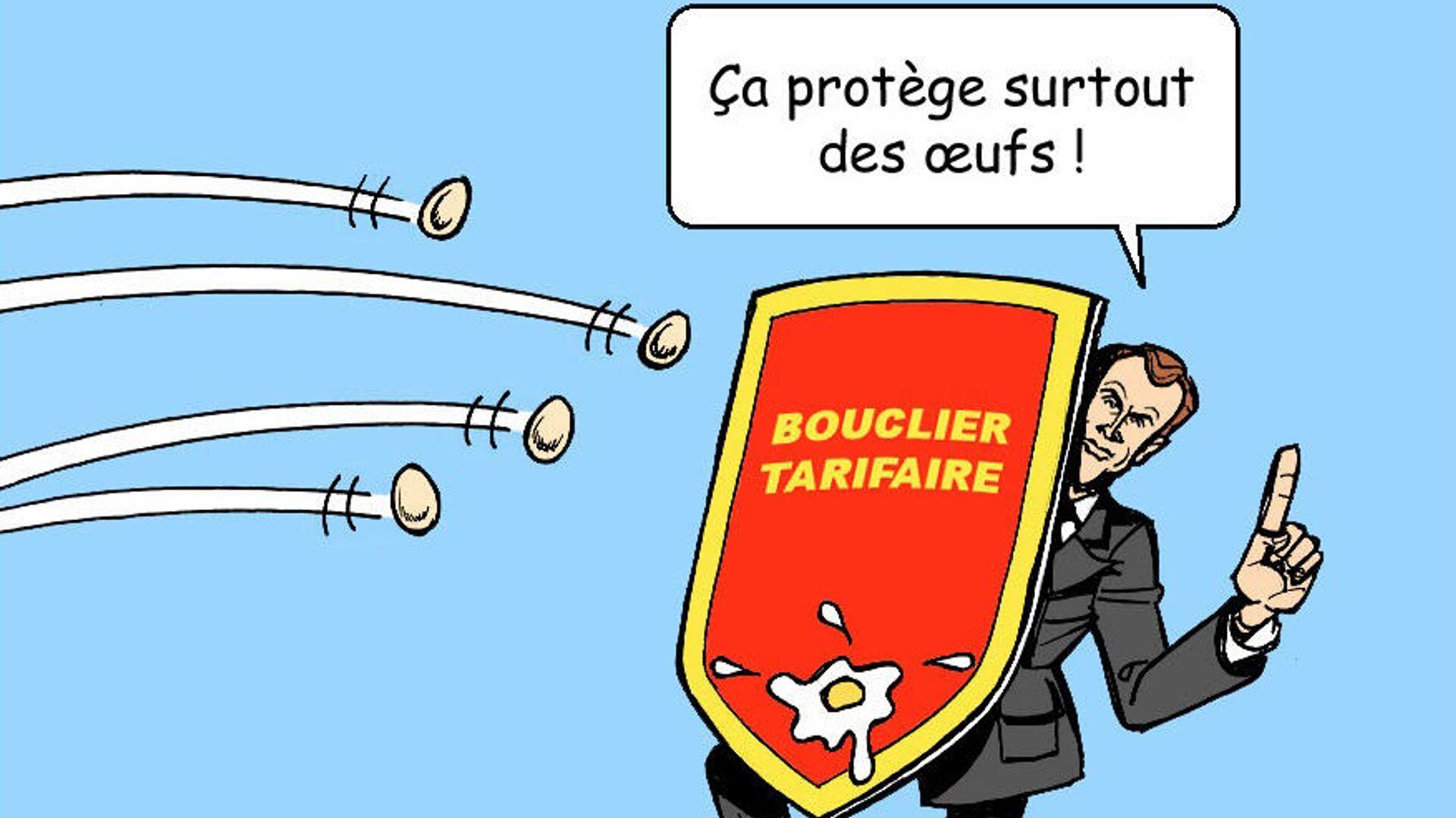 Un bouclier tarifaire pour contrer la hausse des prix du gaz et de l'électricité - Sputnik France, 1920, 04.10.2021