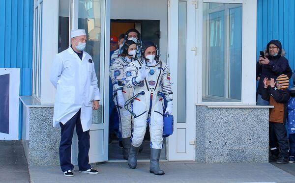 Des cosmonautes russes aideront l'équipe de tournage à filmer. - Sputnik France