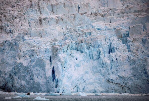 Le glacier Eqi Sermia au Groenland. - Sputnik France