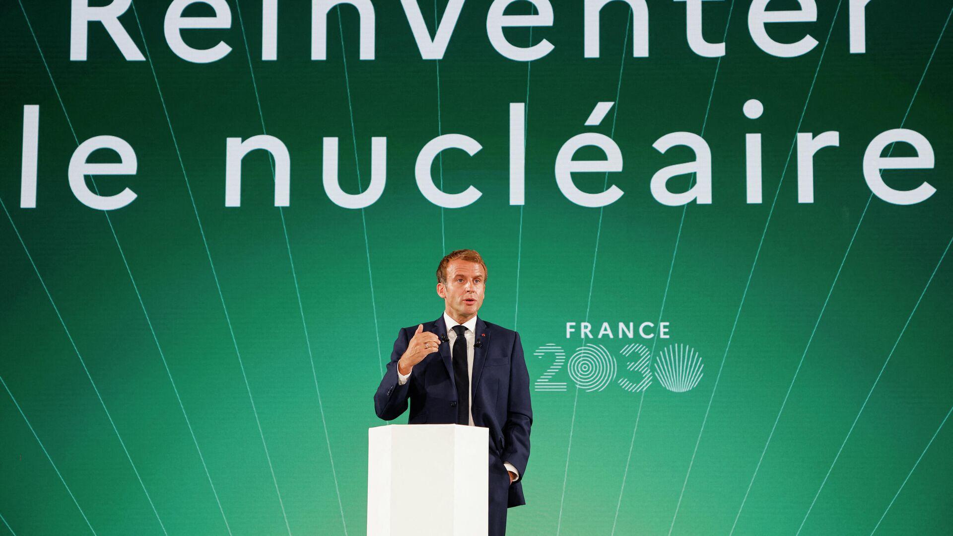 Emmanuel Macron  - Sputnik France, 1920, 13.10.2021