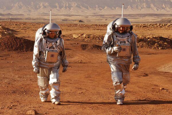 La mission Amadee-20 visant à simuler les conditions de vie sur Mars a été lancée dans le désert du Néguev, en Israël. - Sputnik France