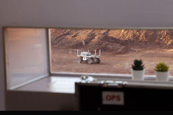Selon les organisateurs, la station martienne dans le désert du Néguev est le modèle le plus sophistiqué et le plus moderne de complexe de recherche sur Mars. - Sputnik France