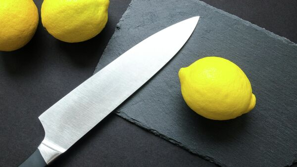 Couteau de cuisine, image d'illustration - Sputnik France