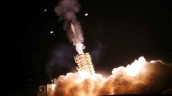 Стрельба во время учений противовоздушной обороны Ирана  - Sputnik France