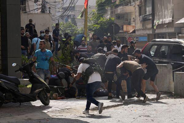 Les tirs ont donné lieu à des affrontements entre les militants chiites et les chrétiens des Forces libanaises, parti d'opposition. - Sputnik France
