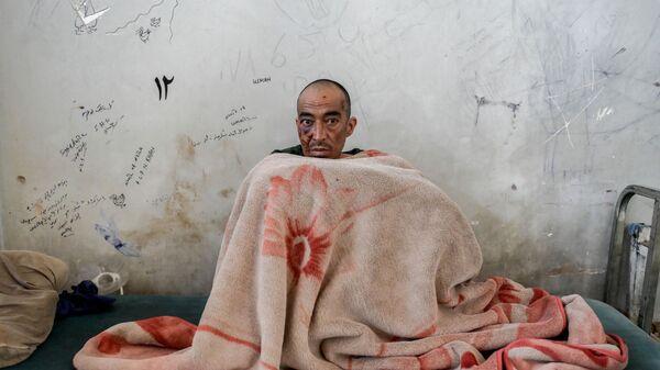 Наркоман в отделении детоксикации больницы им. Авиценны в Кабуле - Sputnik France