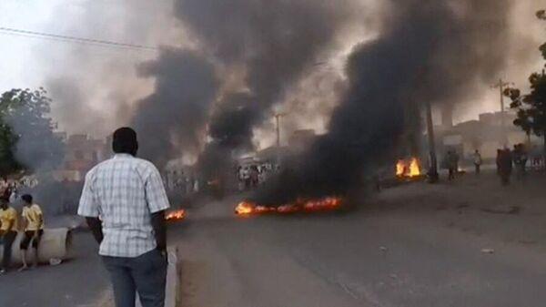 des manifestants soudanais - Sputnik France