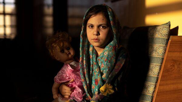 9-летняя Самира в детском доме в Кабуле - Sputnik France