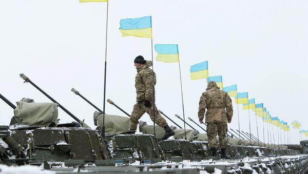 Militaires ukrainiens dans l'est de l'Ukraine - Sputnik France