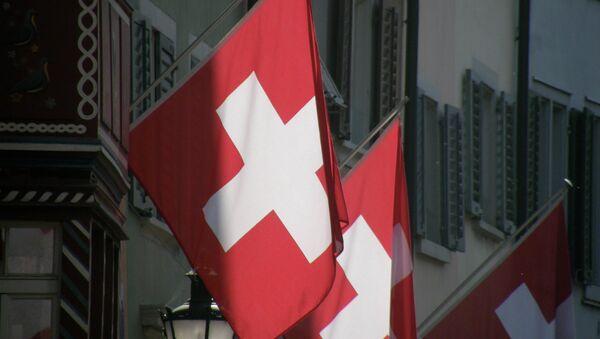 Le drapeau suisse - Sputnik France