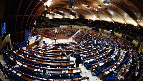 Пленарное заседание зимней сессии Парламентской ассамблеи Совета Европы - Sputnik France