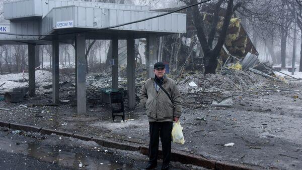 Situation à Donetsk - Sputnik France
