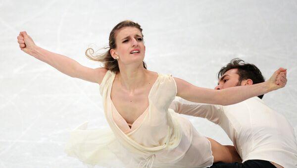Gabriella Papadakis et Guillaume Cizeron ont sacrés en danse sur glace - Sputnik France