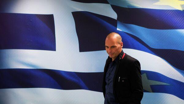 Министр финансов Греции Янис Варуфакис - Sputnik France