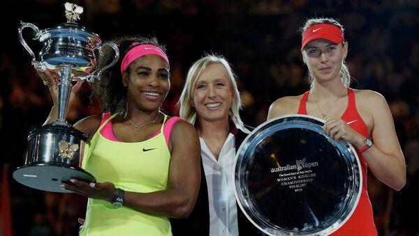 Open d'Australie: Serena Williams bat Sharapova en finale - Sputnik France