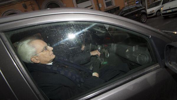New Italian President Sergio Mattarella - Sputnik France
