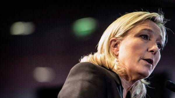 Marine Le Pen, la présidente du Front national - Sputnik France