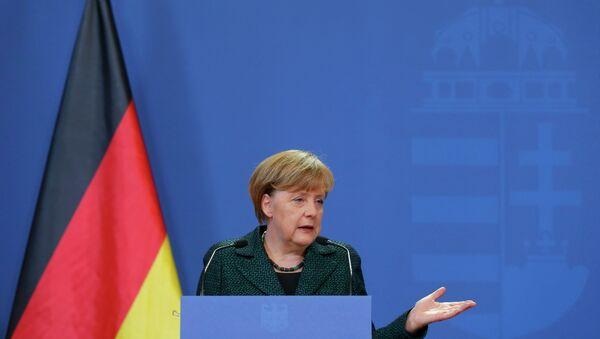 Angela Merkel, canciller alemana - Sputnik France