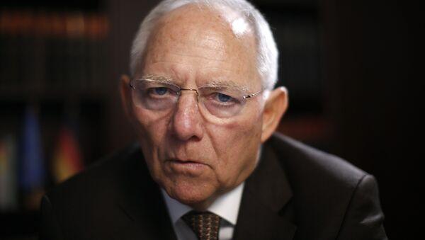 Wolfgang Schäuble, ministre allemand des Finances - Sputnik France