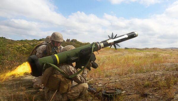 The FGM-148 Javelin Anti-tank Guided Missile - Sputnik France