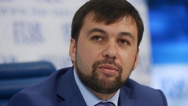 Denis Pouchiline, négociateur de la République populaire de Donetsk à Minsk - Sputnik France