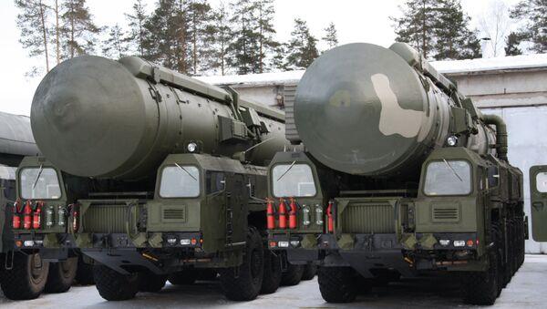Мобильный ракетный комплекс РС-24 Ярс - Sputnik France