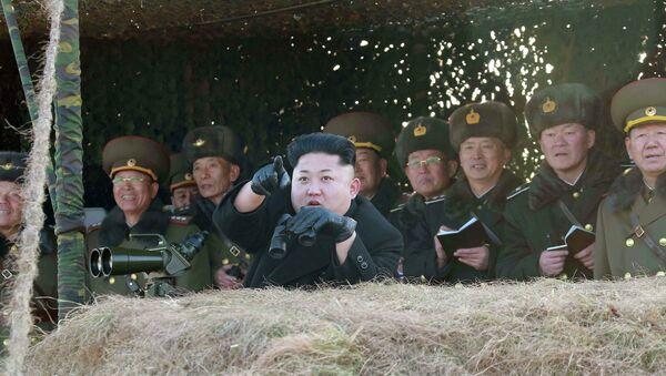 Pyongyang menace de frapper Séoul si ce dernier ne s'excuse pas pour les exercices - Sputnik France