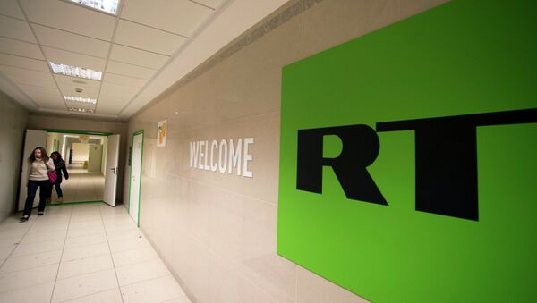 Chaîne de télévision RT - Sputnik France