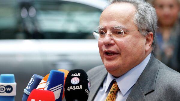 Greek Foreign Minister Nikos Kotzias - Sputnik France