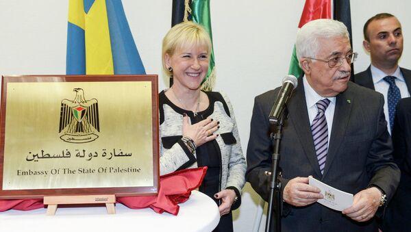 Mahmoud Abbas, ouverture de l'ambassade en Suède - Sputnik France