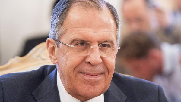 Le ministre russe des Affaires étrangères Sergueï Lavrov - Sputnik France