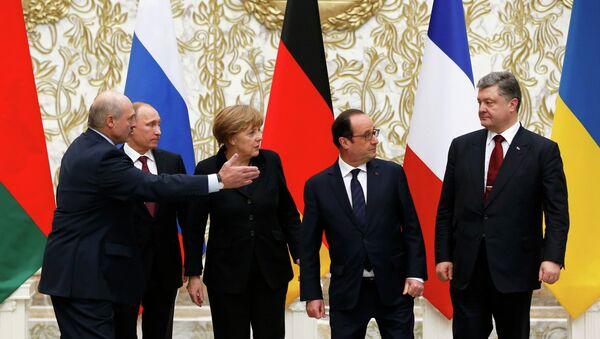 Format Normandie: émotions et décisions - Sputnik France