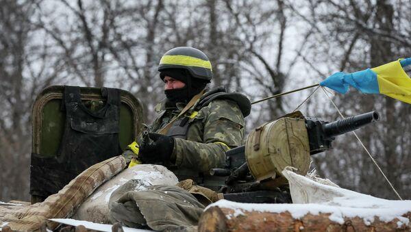 A member of the Ukrainian armed forces - Sputnik France