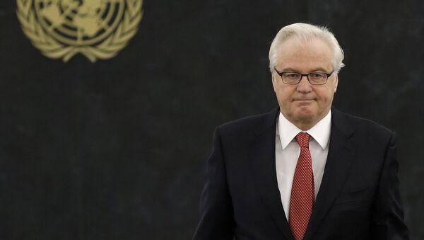 Russian ambassador to the United Nations Vitaly Churkin - Sputnik France