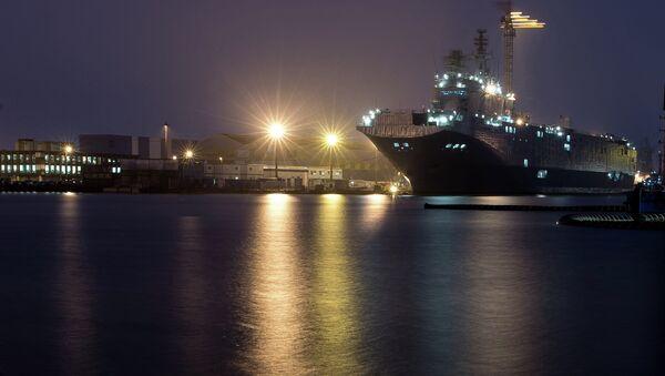 The STX Europe shipyard in Saint-Nazaire - Sputnik France