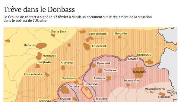 Une nouvelle trêve pour le Donbass - Sputnik France