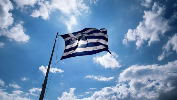 Флаг Греции - Sputnik France