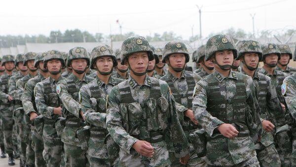 Совместные российско-китайские учения Мирная миссия-2013 - Sputnik France