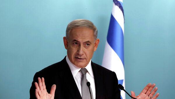 Israel's Prime Minister Benjamin Netanyahu speaks during a news conference at his office in Jerusalem December 2, 2014 - Sputnik France