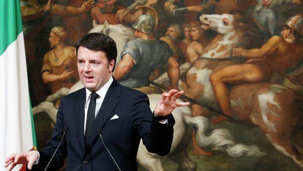 Matteo Renzi - Sputnik France