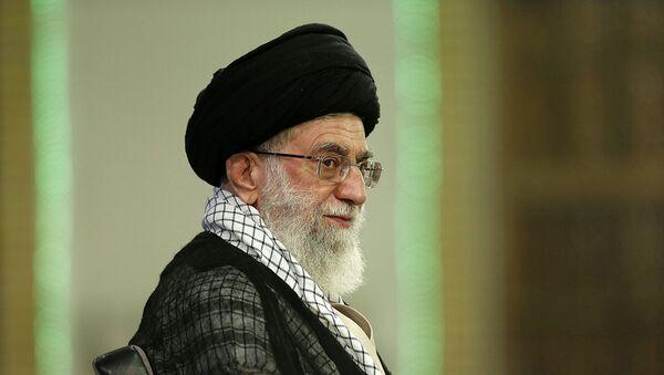 Le guide suprême iranien Ayatollah Ali Khamenei - Sputnik France