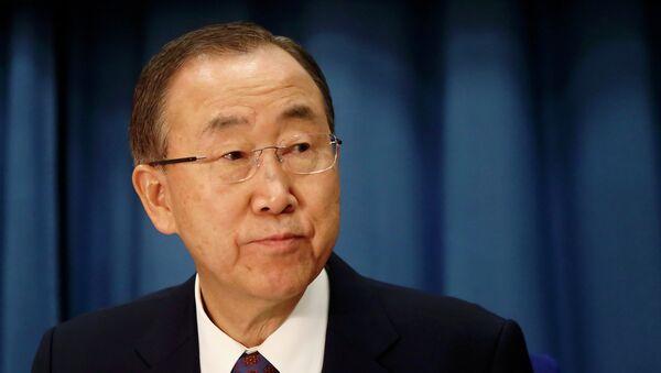 U.N. Secretary-General Ban Ki-moon - Sputnik France